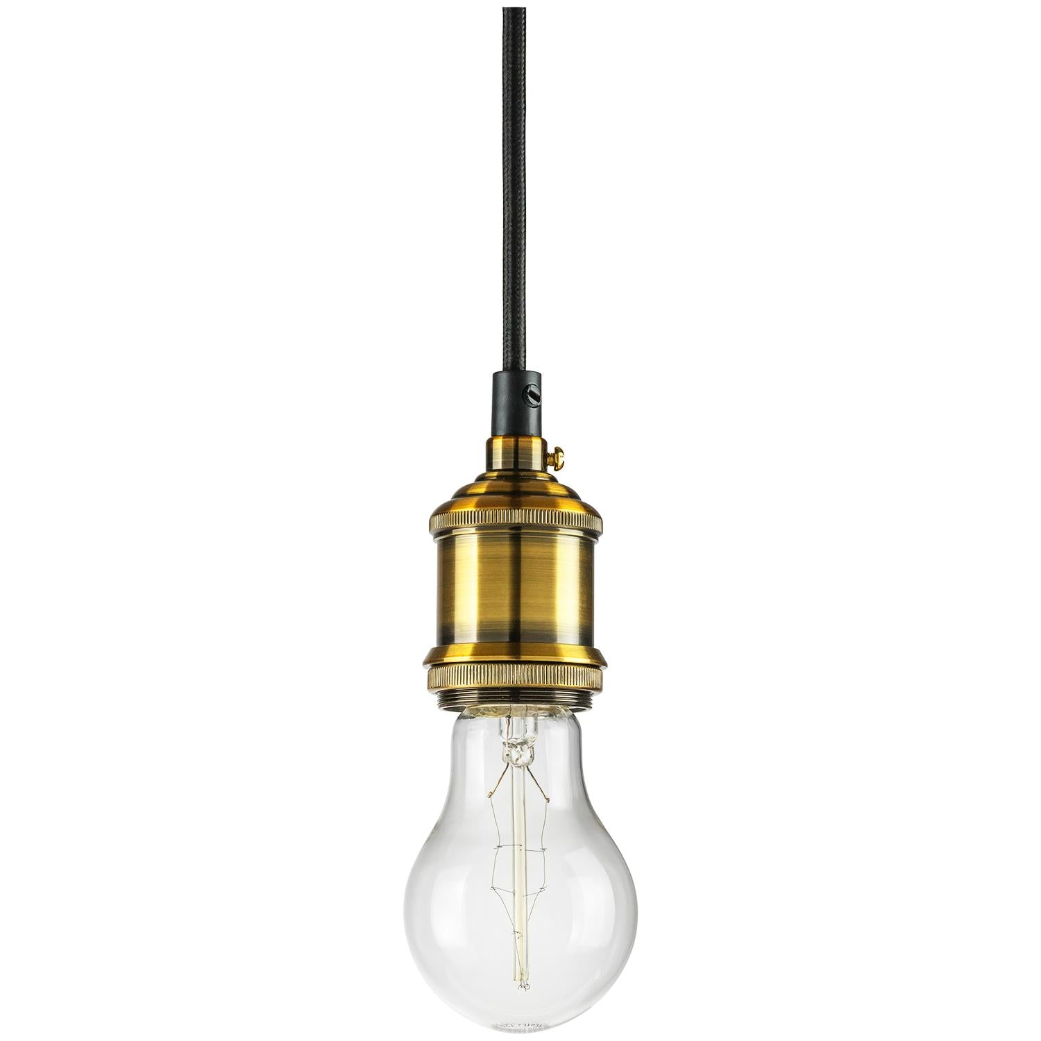 SUNLITE E26 Hanging Socket Bronze Pendant Light Fixture