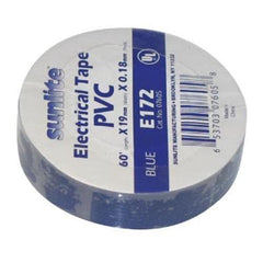 SUNLITE 10pcs Electrical Tape Blue E172