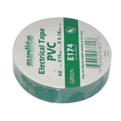 SUNLITE 10pcs Electrical Tape Green E174