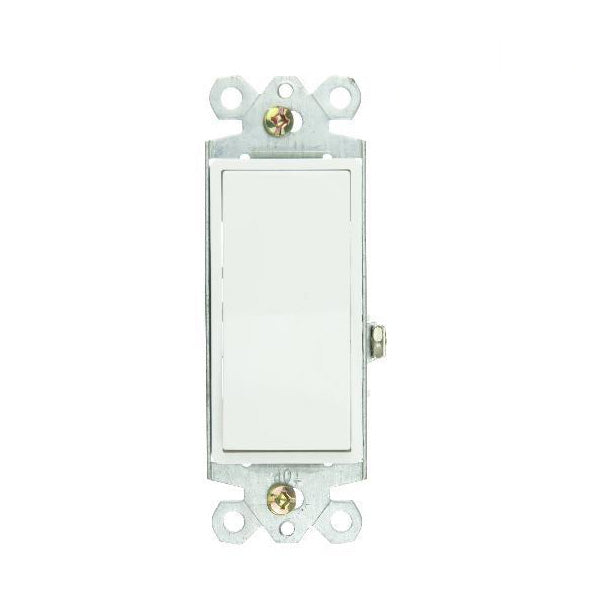 SUNLITE WHITE GROUNDED ROCKER SWITCH E509 Boxed