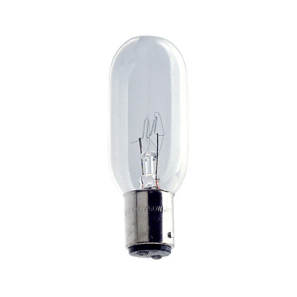 USHIO CAX/CAW 50W 120V BA15d Base Incandescent Projection Lamp