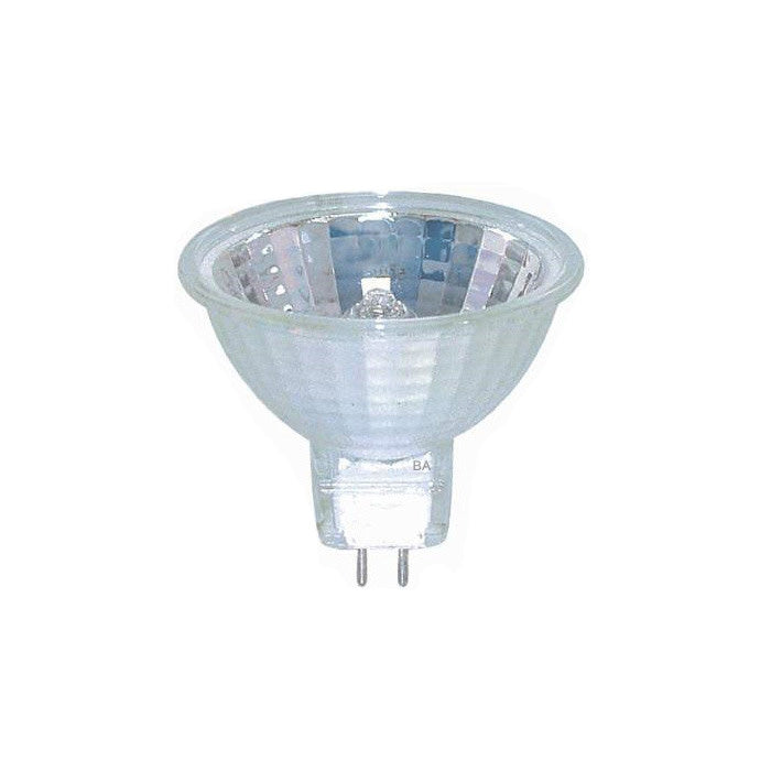 USHIO EYC 75w 12v Flood FL36 w/ Front Glass MR16 halogen light bulb