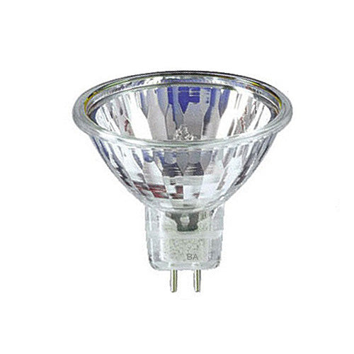 USHIO 50W 12V MR16 FNV Eurostar No Front Glass 60WFL Halogen Reflector Bulb