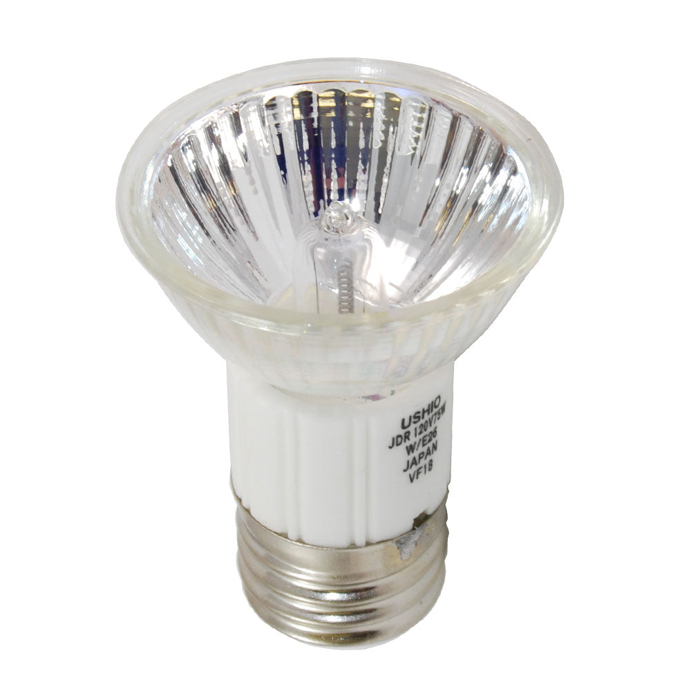 USHIO 75W 120V JDR MR16 FLD E26 Halogen Light Bulb