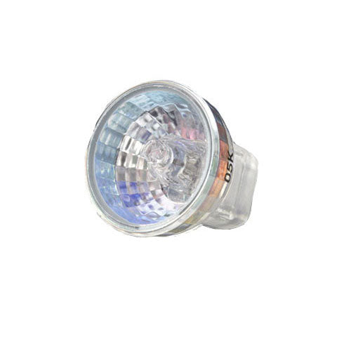 BulbAmerica 20W 12V MR8 G4 Bi-Pin Base Clear Flood Bulb
