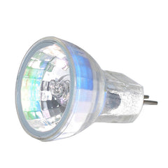 BulbAmerica 35W 12V MR8 G4 Bi-Pin Base Clear Flood Bulb