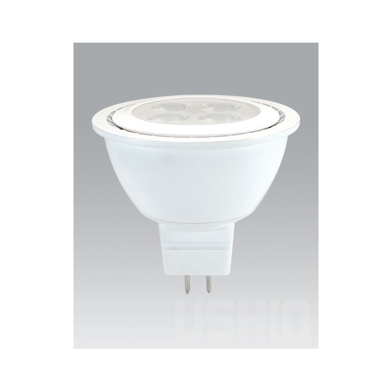 Ushio 6w 12v Uphoria LED MR16 FL38 Warm White Light Bulb