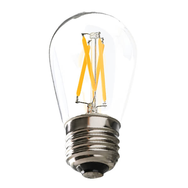 Ushio 1.5W S14 LED 2700k Soft White  U-LED Filament Bulb