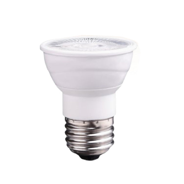 USHIO 7W PAR16 LED E26 Narrow Flood 25 3000K Warm White Light Bulb - 50w equiv.