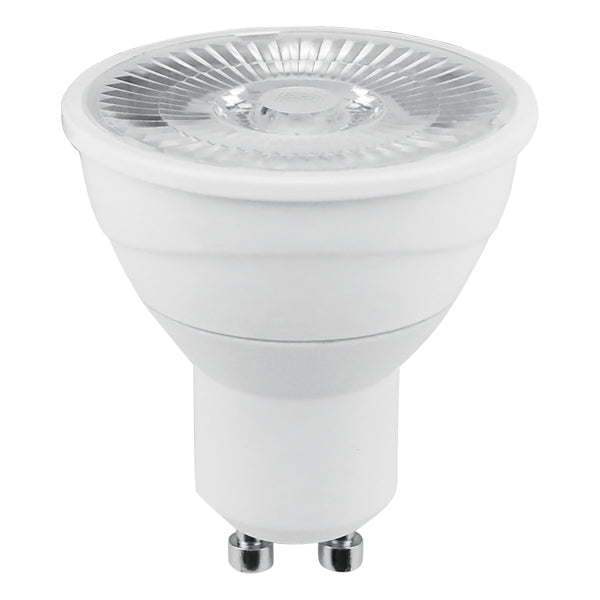 USHIO 7W PAR16 LED GU10 Narrow Flood 25 3000K Warm White Light Bulb - 50w equiv.
