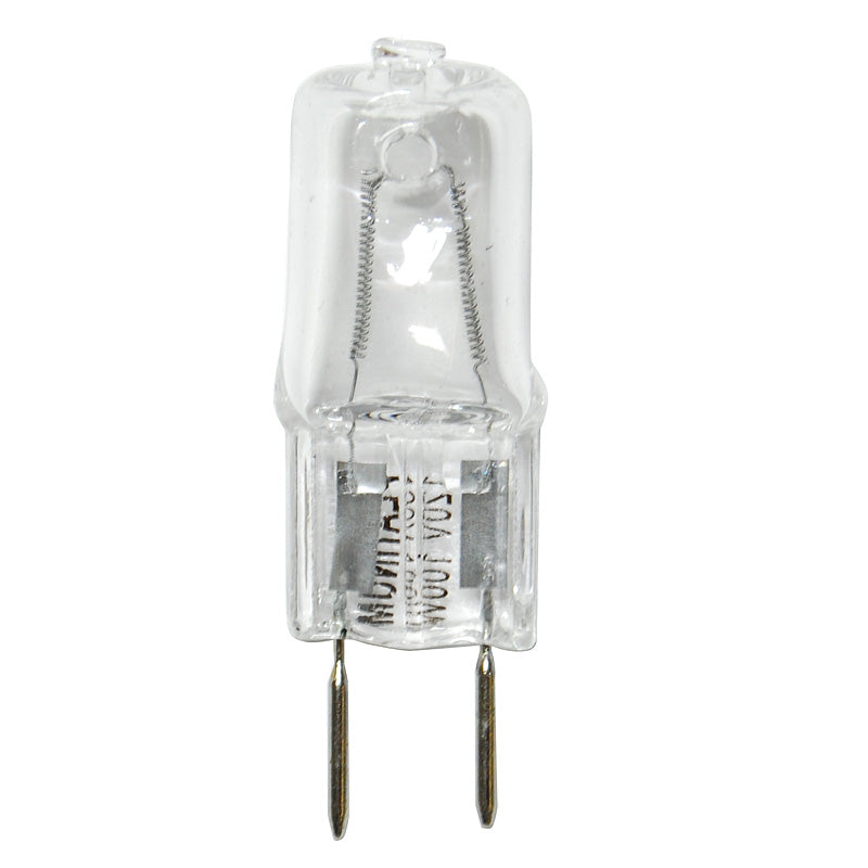BulbAmerica 100W 120V GY8 Bi-Pin Base Clear Halogen Bulb