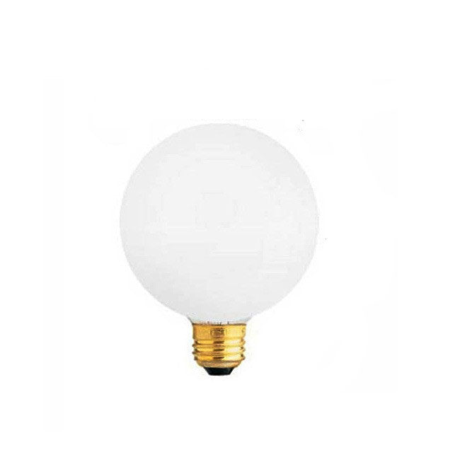 Sylvania 60W 120V G16.5 Incandescent Decor Soft White light bulb