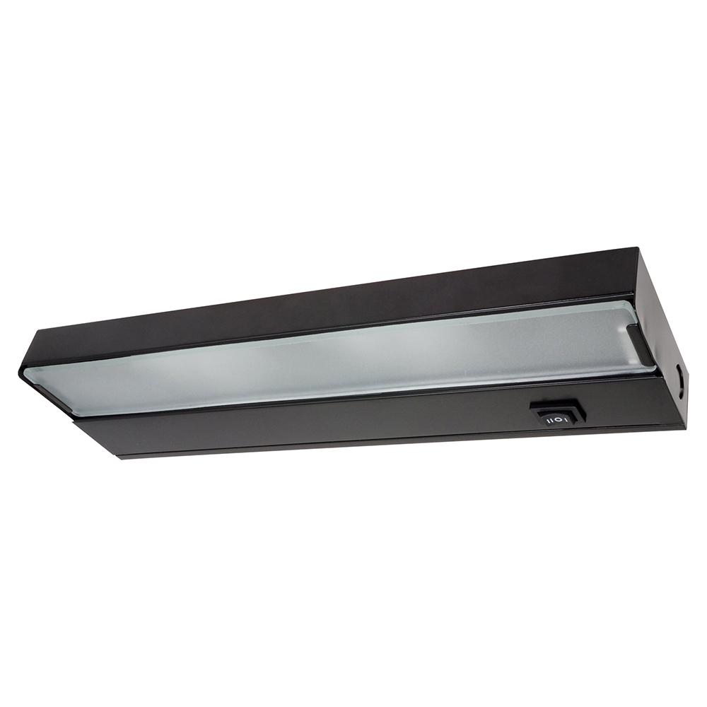 NICOR 12 1/2 in. Xenon UC Black Under Cabinet Light