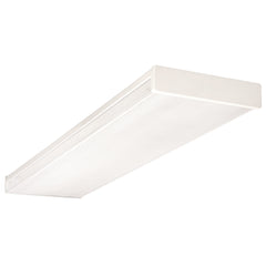 NICOR 4-Lamp 32W Wraparound Fluorescent Fixture
