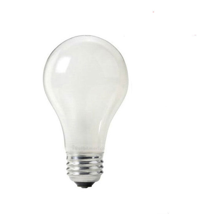 Osram Sylvania 60w 120v A-Shape A19 Frosted 2850K Incandescent Light Bulb - 4 pack