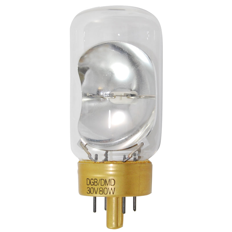USHIO 80W 30V DGB T12 G17Q-7 Photographic 3200k Incandescent Light Bulb