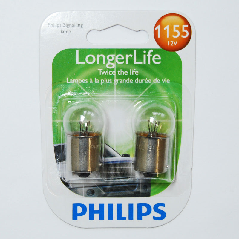 Philips 1155 - 7.5w 13v G6 Long Life Automotive Light Bulb - 2 pk