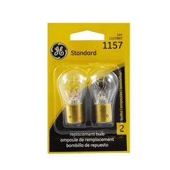 GE  1157 - 27w 12.8v S8 Automotive Lamp - 2 Bulbs