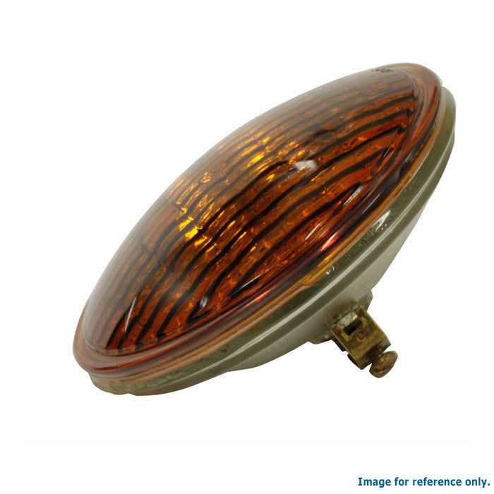 GE  4402A - 50w 28v PAR36 Screw Terminals CIM Amber Colored Light Bulb