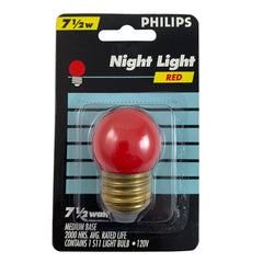 6pk - Philips 7.5w S11 Red Incandescent Night Light Bulb - E26 Base
