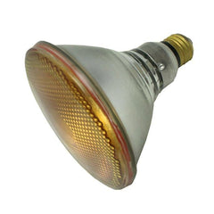 Sylvania Yellow 100w PAR38 Flood 30 deg. Incandescent Reflector Light Bulb - 13932