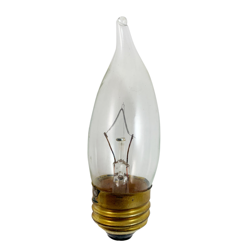 Philips 60w B9.5 Flame Decorative Bent Tip Incandescent Light Bulb