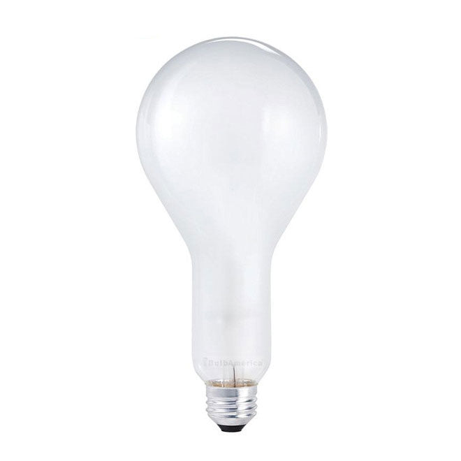 Philips 200w 120v PS30 Frost Silicone E26 Incandescent Light Bulb