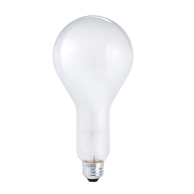 Philips 200w 120v PS30 Frosted E26 Rough/Vibration Service Incandescent Bulb