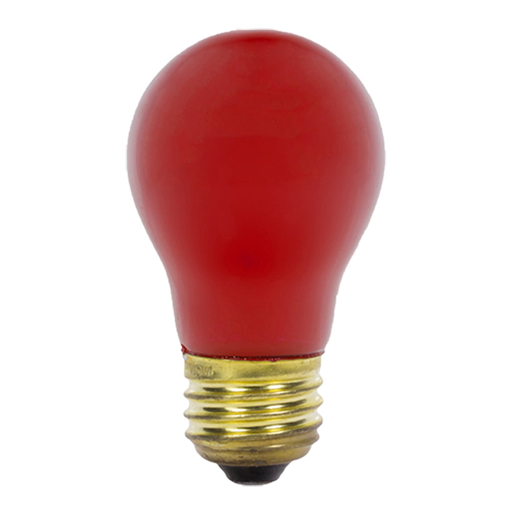 Philips Red 40 Watt 120 Volt A21 Incandescent Light Bulb