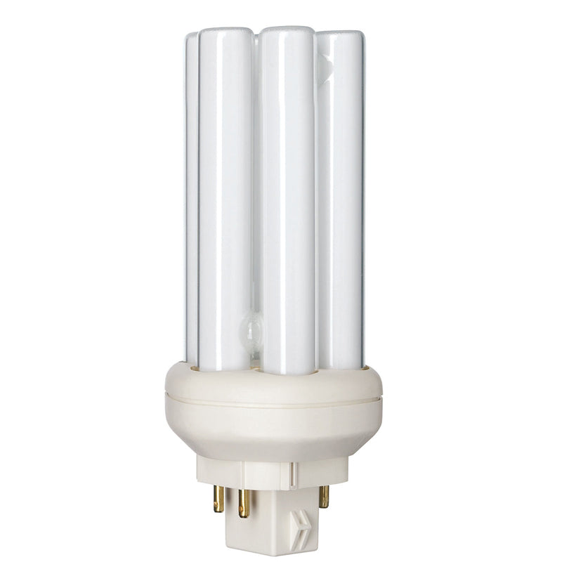 Philips 18w Triple Tube 4-Pin 3000k Warm White GX24q-2 Fluorescent Light Bulb
