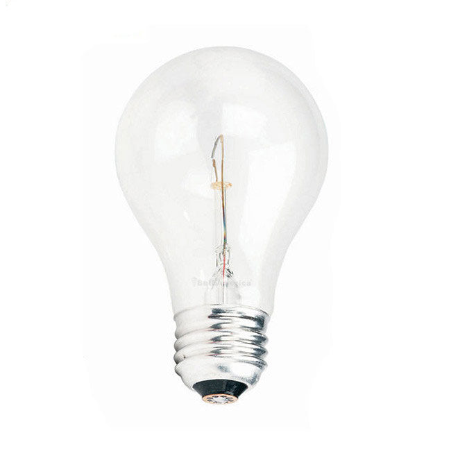 Philips 60w 120v A-Shape A19 E26 Silicone Coated Incandescent Light Bulb
