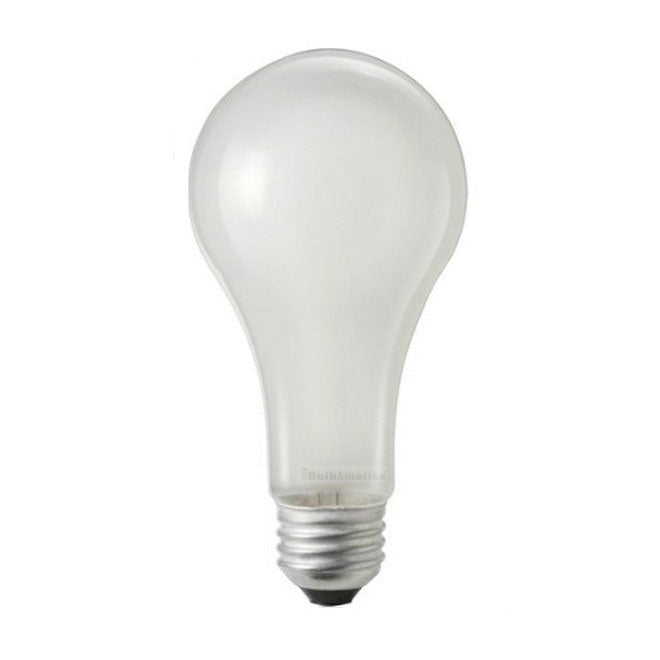 Philips 150w 120v A-Shape A21 E26 Frost Silicone Rough Service lamp - 2 Bulbs