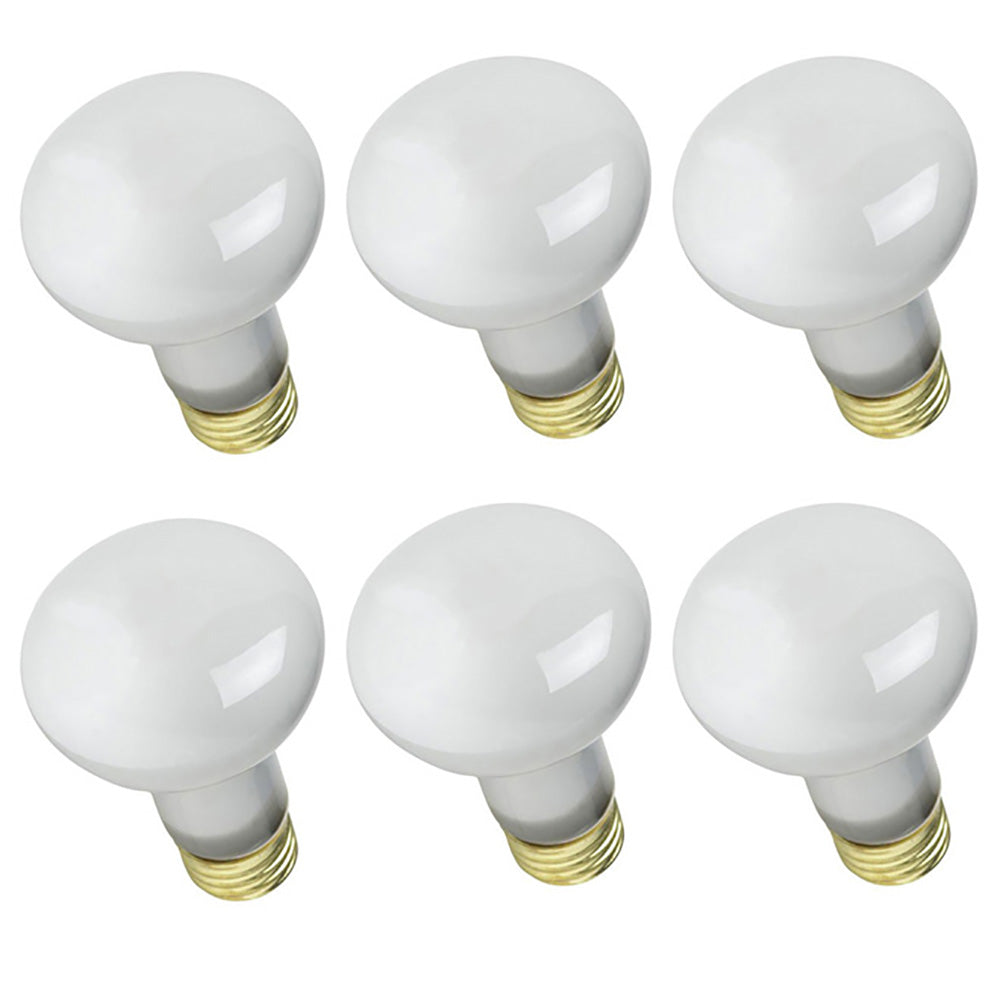 6PK - SYLVANIA 45w 120v R20 245Lm Incandescent Light Bulb