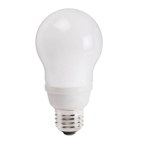 Philips 9w EL/A A-Shape 2700K E26 Fluorescent Light Bulb