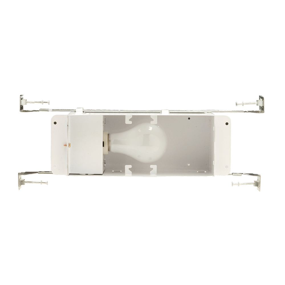 NICOR 10 in. Incandescent Step Light Fixture with Hanger Bars