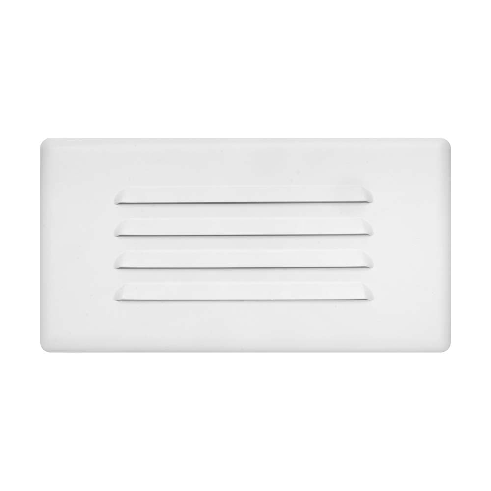 NICOR 10 in. Louvered Step Light Faceplate Cover
