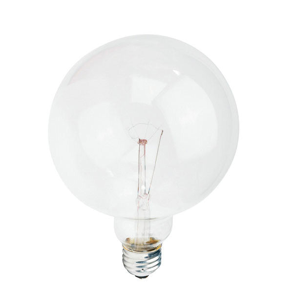 Philips 60w 120v G40 DuraMax Clear E26 Decorative Incandescent Light Bulb