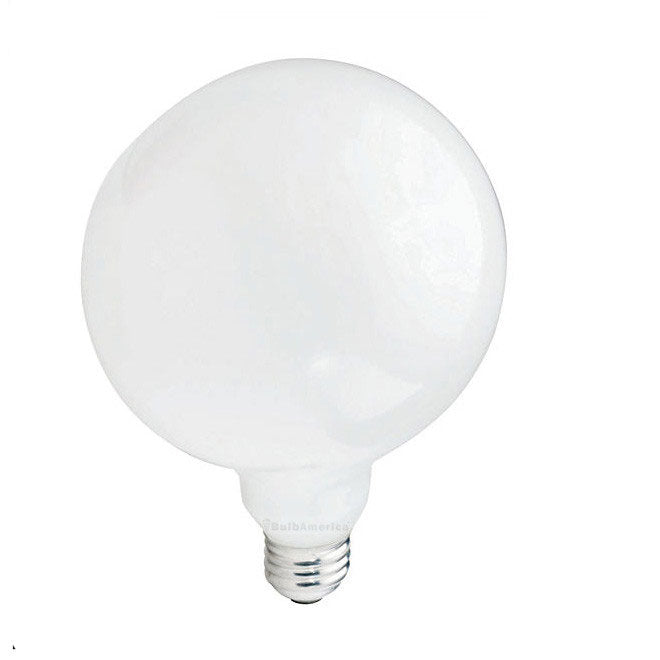 Philips 40w 120v Globe G40 White E26 DuraMax Deco Incandescent Light Bulb
