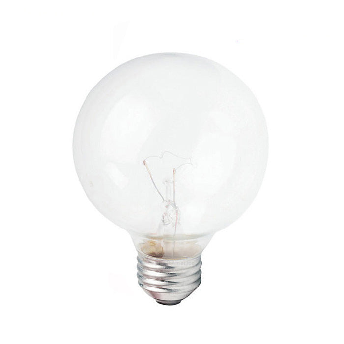Newhouse Lighting 40w Equivalent Incandescent G25 Dimmable: Philips 40w 120v Globe G25 Clear DuraMax Deco Incandescent