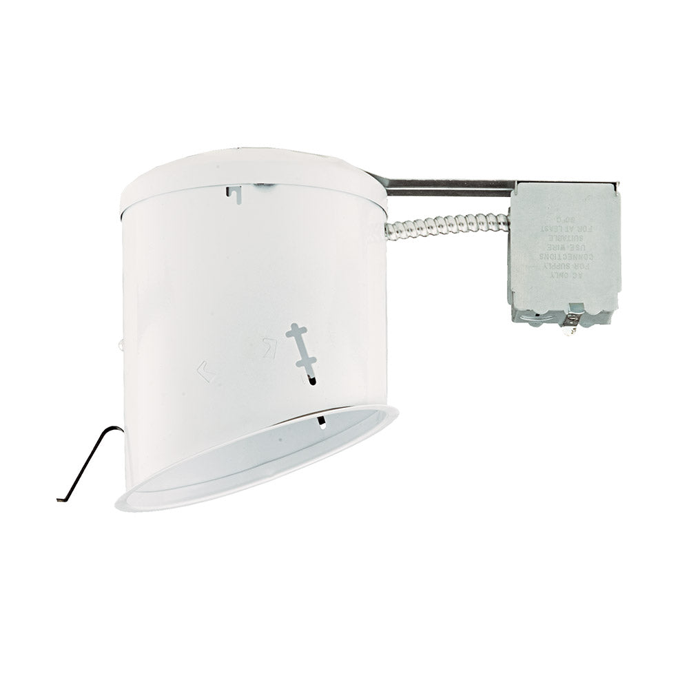 NICOR 6 in. Sloped Recessed Housing for Remodel Applications, Non-IC