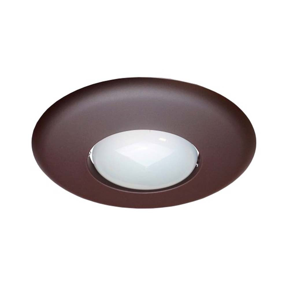6 in. Oil-Rubbed Bronze Recessed Open Trim Designed for 6 inch Housings