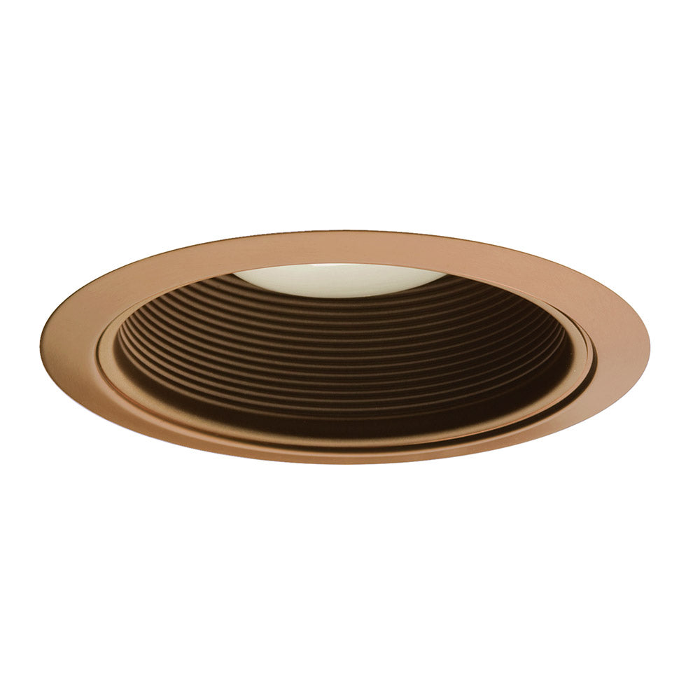 NICOR 6 in. Bronze Recessed Baffle Trim