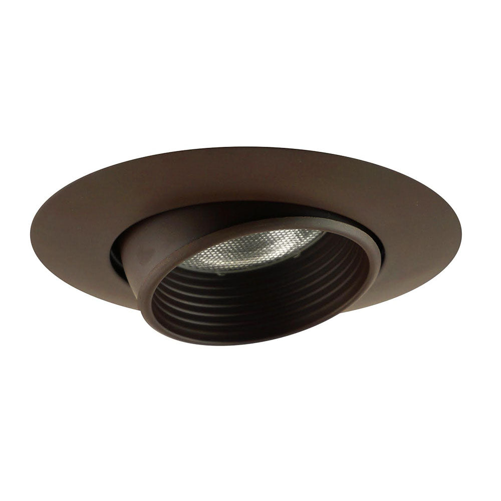 NICOR 6 in. Eyeball with  Oil-Rubbed Bronze Baffle