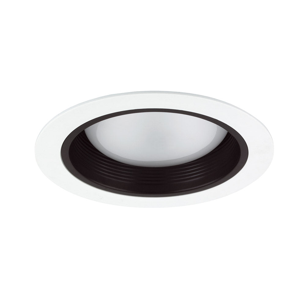 NICOR 6 in. Black Cone Baffle Trim