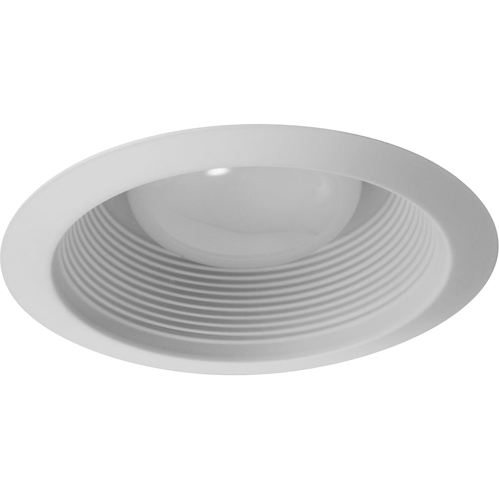 NICOR 6 in. White R30 AT Cone Baffle/Clip