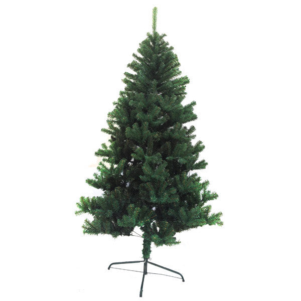 Holiday Essence V/1780 6FT 1000 Tips Green Metal Base Canadian Pine Unlit Christmas Tree
