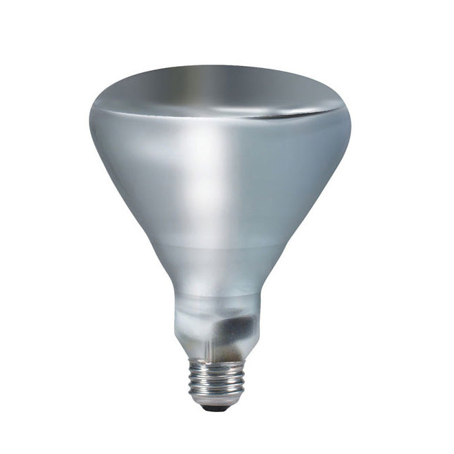 Philips 250w 120v BR40 SP Clear Infrared E26 Incandescent Light Bulbs