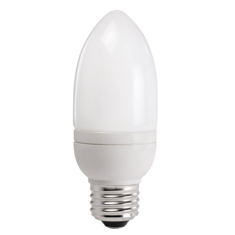 Philips 9w 120v 2700k Candelabra E12 Fluorescent Light Bulb