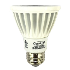 Luxrite 8w 120v PAR20 FL25 3000k E26 Dimmable LED Light Bulb