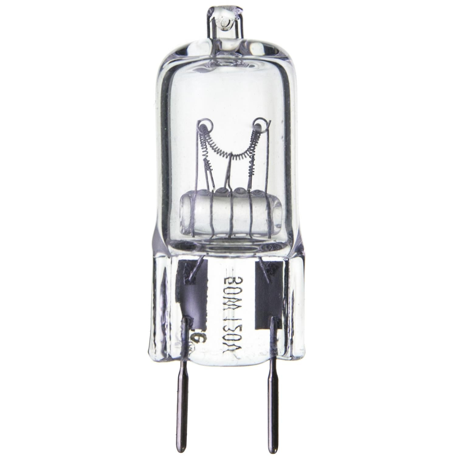 SUNLITE 50w 120v Single Ended T3.5 GY8 Bi-Pin Base Clear 3200K Halogen Lamp